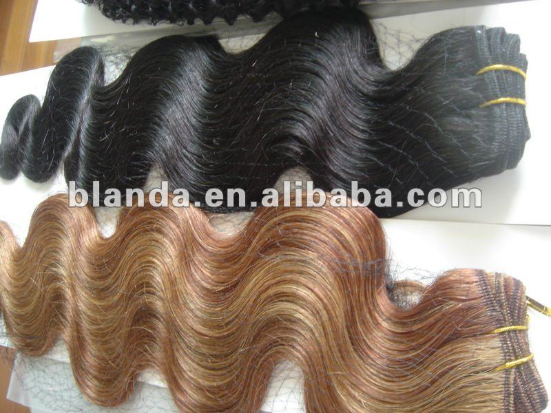 body weave textured indian remy human hair