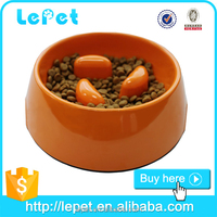 Factory low price pet bowls slow feed dog feeder cat bowl