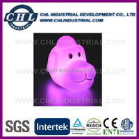 EN71 standard dog shape pvc led night light