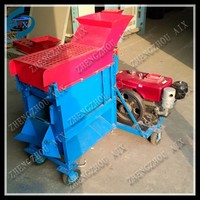 High capacity corn peeler and sheller machine for farm