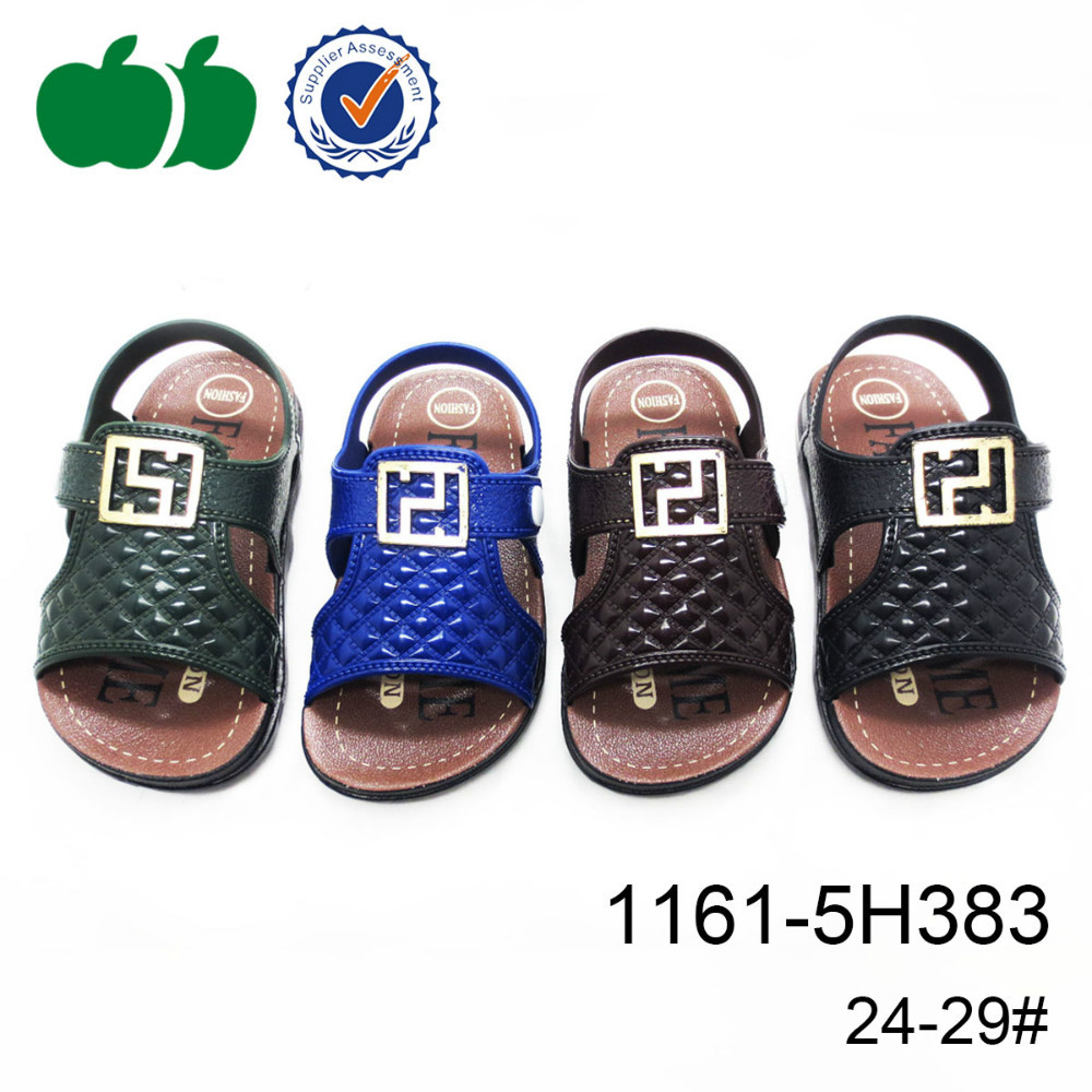 Colorful comfortable cheap children pvc air blow cute baby boy sandals