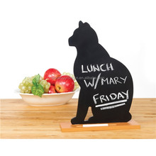 Black Cat Memo Chalkboard