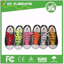 Nylon Flashing Light RGB LED Glow Shoelaces