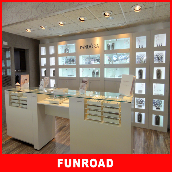 Jewelry Showcase Display Sets With LED Light