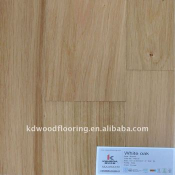 2011 widely usage in hotel white oak flooring
