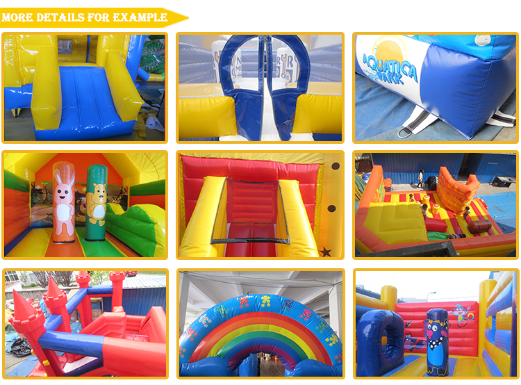 customized commercial grade cheap inflatable rock bouncy castles for sale