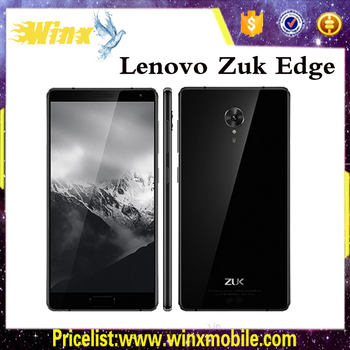 Best-seller!!Original Lenovo ZUK Edge RAM 6GB ROM 64GB very low cost mobile phones smart phone android Black/White