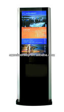 2013 new product--42inch airport interactive lcd touch advertising player/self service touch screen kiosk/digital signage