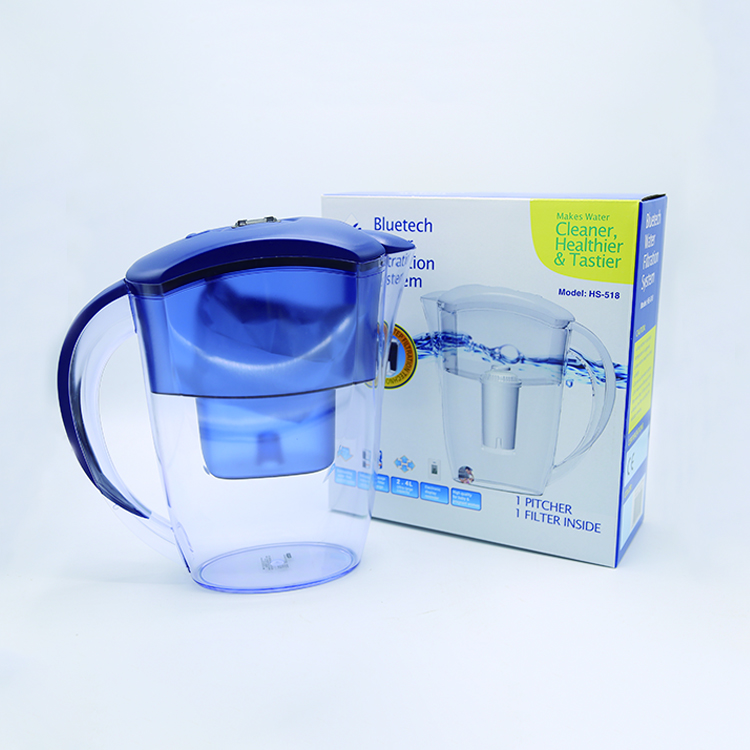 3.5L plastic household nano alkaline water filter pitcher
