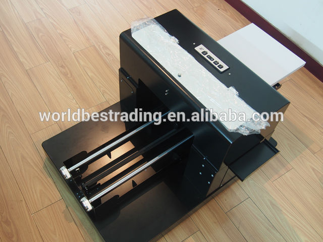 [WORLD BEST]-Best Textile Printer Textile Printing Machine A3 Digital Flatbed Garment Printer
