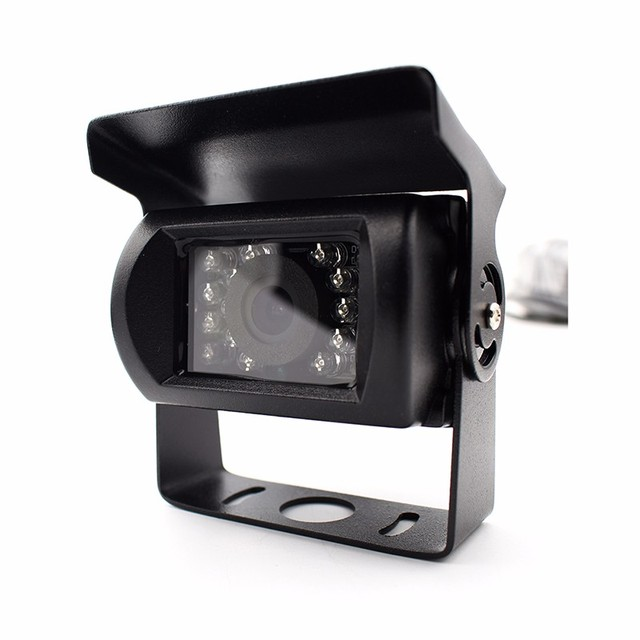 IP67 mini outside black infrared cctv rs232 rs485 serial jpeg camera for car bus roof GPS tracking