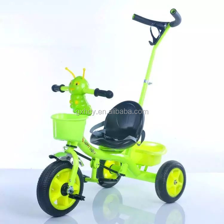 toy cars for baby/children tricycle toy with handle bar/cheap push toy tricycle