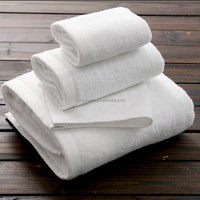 EAswet China supplier optical white 100% cotton hotel sauna towel