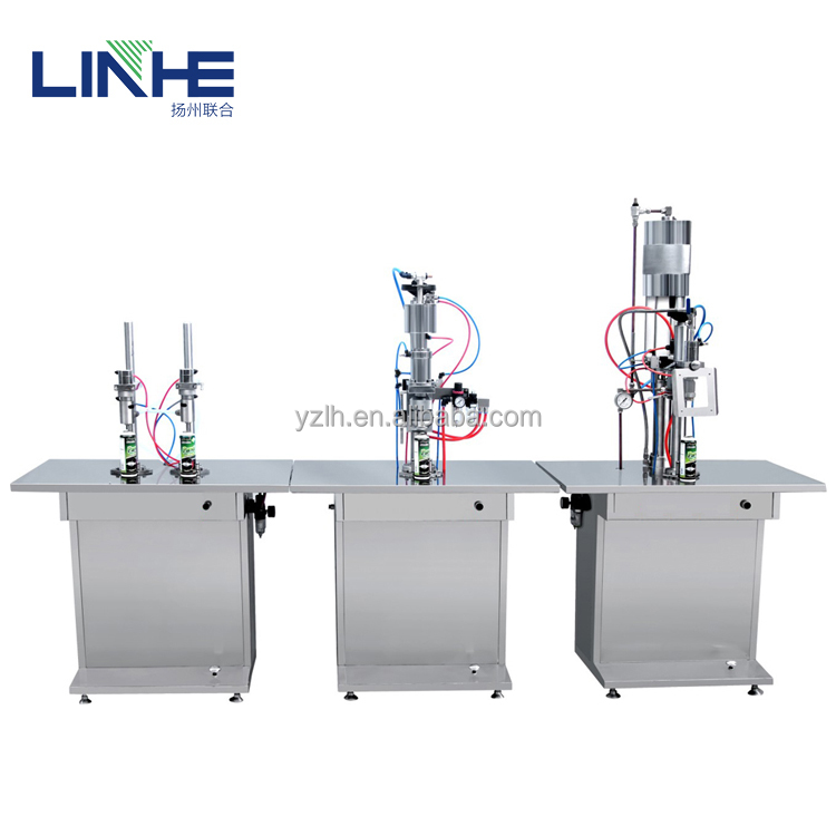 China Factory Manual Aerosol Filling Machine for Aerosol Cans