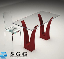 table top toughened float glass