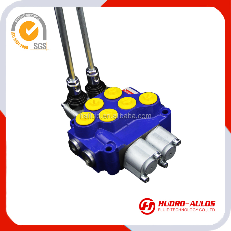 5018R 12v solenoid operated 4 way directional electric flow control valve