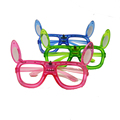 rabbit light flashing LED glasses Frame