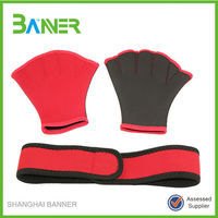 New arrival gloves sets neoprene swimming headband