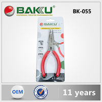 Baku 2015 Best Sell New Design Durox Plier Chain Nose Pliers /Jewelry Pliers Cutters Tools Kit For Cell Phone