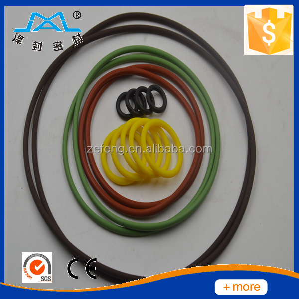 various colorful rubber NBR silicone viton o ring, viton o-ring, FKM oring
