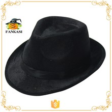 Cheap felt fedora hat for party