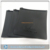 plain black colored matte eva packaging pouch bag,black color ziplock bag,flat black color zippered plastic pouches