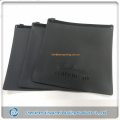 plain black colored matte pvc plastic packaging pouch bag,black color ziplock bag,flat black color zippered plastic pouches