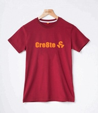 New Breathable unisex cotton T shirt for students