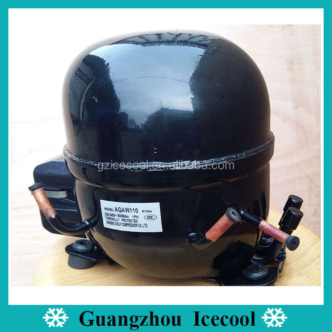 1/3hp wanbao copper wire refrigerator rebuilt compressor with oil cooling AQAW110