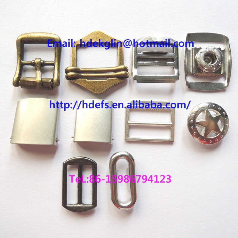 iron material cap back buckle for cap accessories