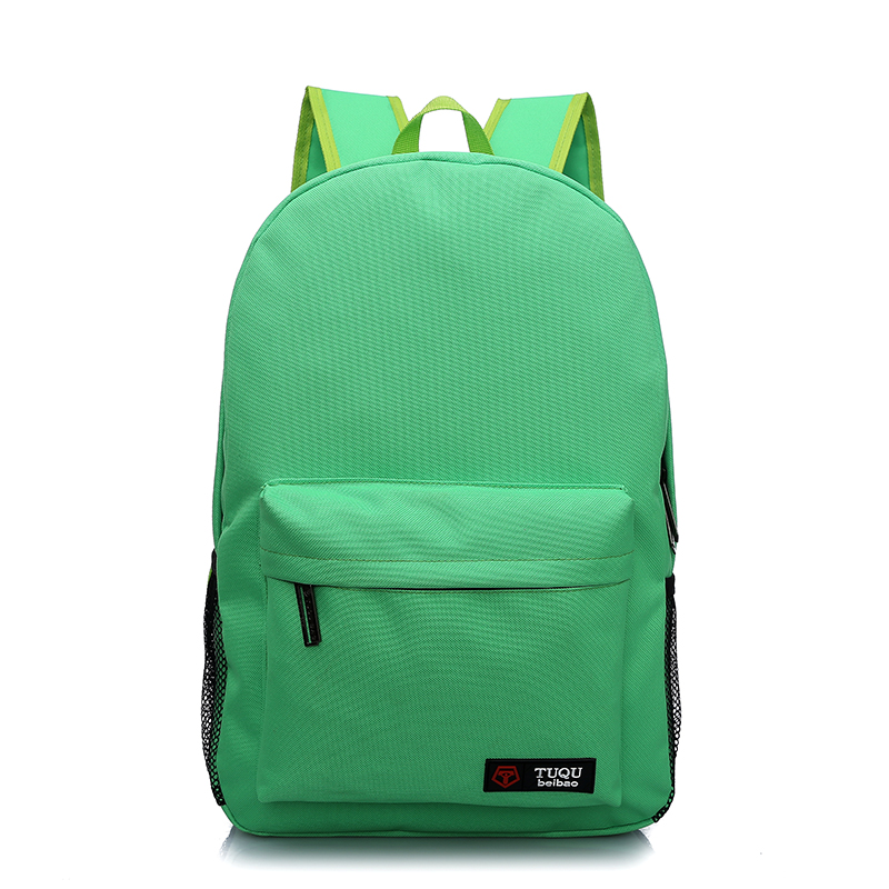 2016 Student school backpack bag college new design school bag