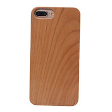 mobile phone accessories,real solid wooden phone case for Iphone plastic raw material for iphone 8