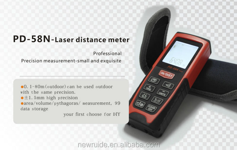 Portable measuring instrument