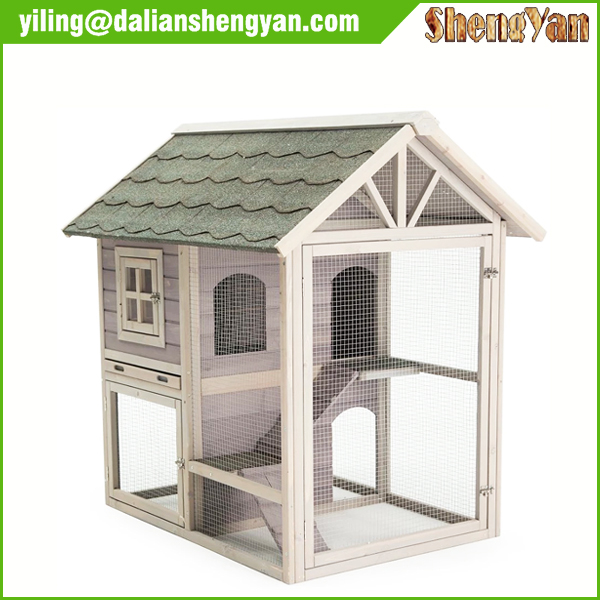 Wholesale Rabbit Hutch with Outdoor Run