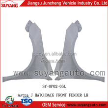 Front fender of OPEL ASTRA J HATCHBACK for car accessory