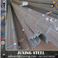 hot dipped galvanized mild steel angle/iron weights /slotted tensile strength