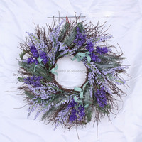 2016 new design wholesale christmas wreath easter decorative wreath