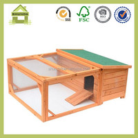 SDR16 Small Wooden Bunny Rabbit & Guinea Pig Hutch with Run