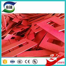 Express sample Drum shaped Tubular red fish paper for Transformer