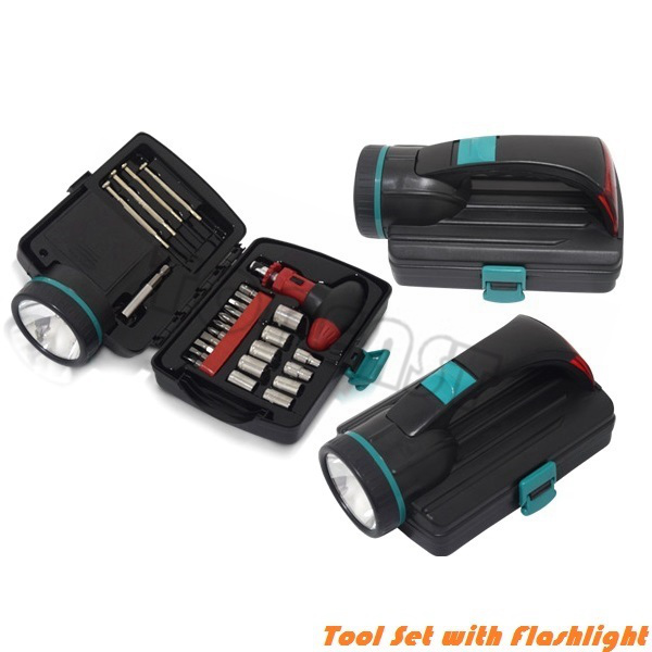 Emergency Tool Set Flashlight Combo Kit.