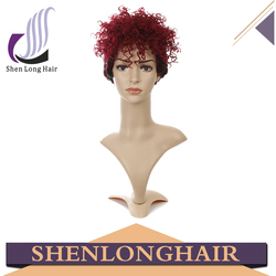 Wholesale Fashion Rihanna Wig, Cheap Halloween Wig, Synthetic Hair Small Head Wig