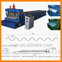 colored steel glazed tile wall and roof cold roll forming machine