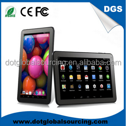 Low Price Quad Core Smart Tablet PC 4.4 Google 10-Inch Android Tablet