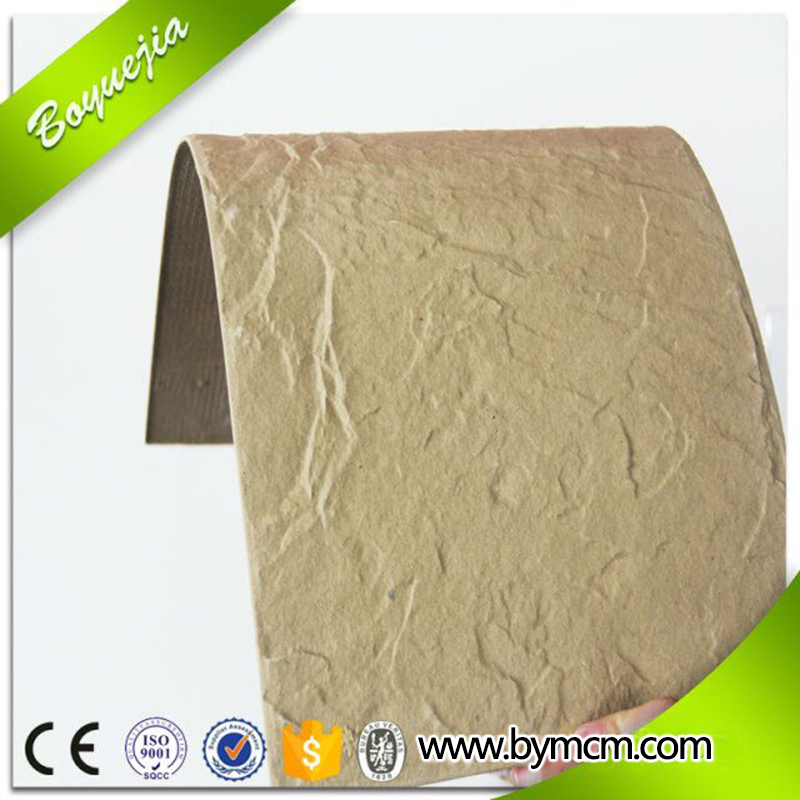 High security waterproof decorative 3mm 5mm thick decorative caremic exterior wall facing tile