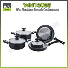 OEM Made in China induction cooking sets aluminum ceramic pots and pans