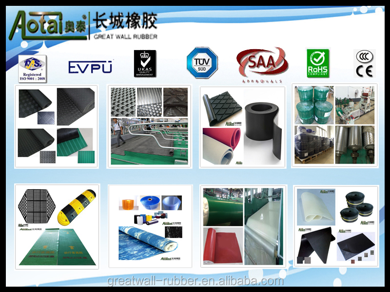 Professional Supplier Supply Various Designs Anti Slip Rubber Floor Mat fish bone rubber flooring mat