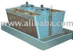 WOODEN INDUCED DRAFT COOLING TOWER MODEL