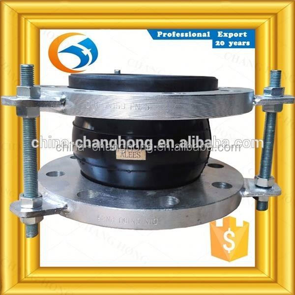DN1200 Flexible flanged elastic flexible single sphere joints For Milking Machine Spares