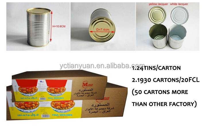 hot sale !canned foul medames with whole chilli 397gx24tins