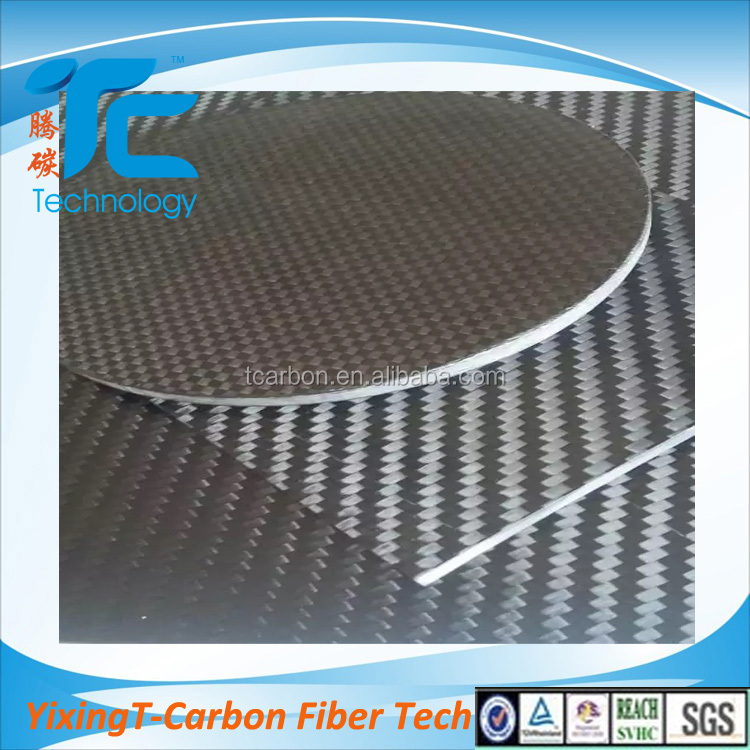 epoxy resin 3K <strong>carbon</strong> fiber sandwich panel plate 1mm 1.5mm 2mm 2.5mm 3mm